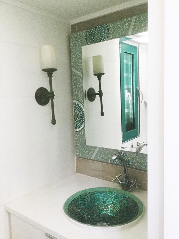 Bathroom Mosiacs - Mosaic Eternity - Mosaic Artist For Mosaic Work