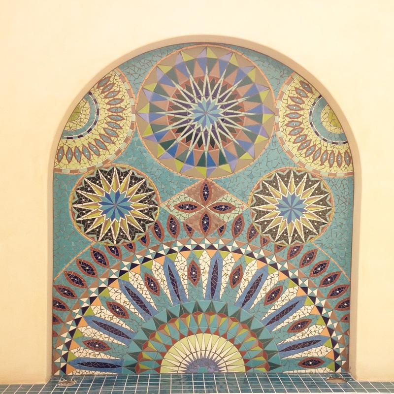 Mosaic murals mosaic eternity mosaic artist for mosaic for Mural mosaic