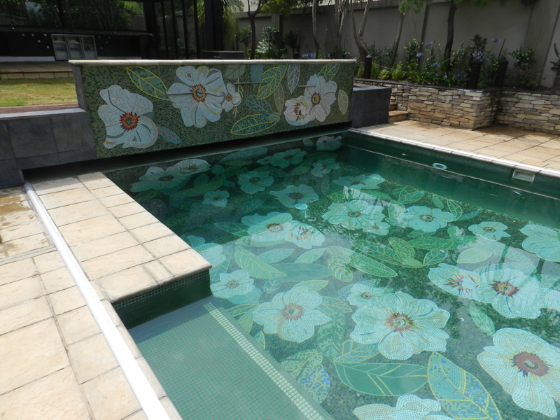 Swimming Pool Mosaics Mosaic Eternity Mosaic Artist