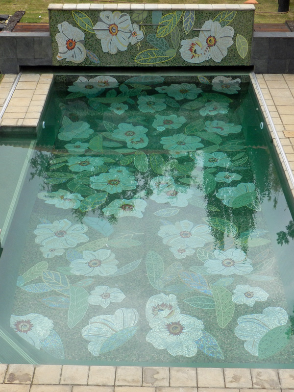 Swimming Pool Mosaics - Mosaic Eternity - Mosaic Artist For Mosaic ...