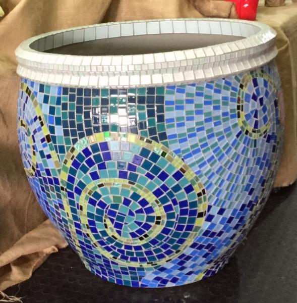 Pots And Planter Mosaics - Mosaic Eternity - Mosaic Artist