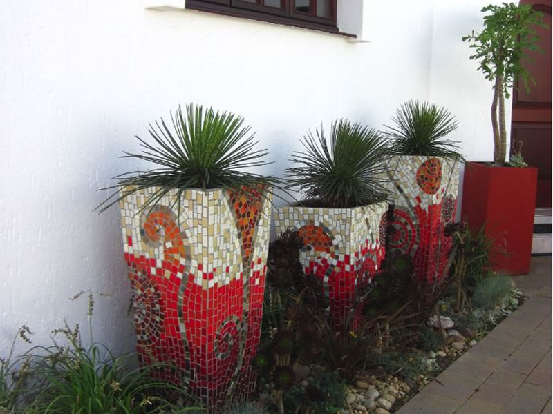 Pots And Planter Mosaics Mosaic Eternity Mosaic Artist