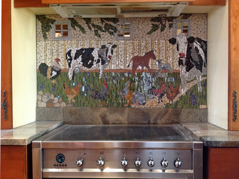 Kitchen Mosaics Mosaic Eternity Mosaic Artist For