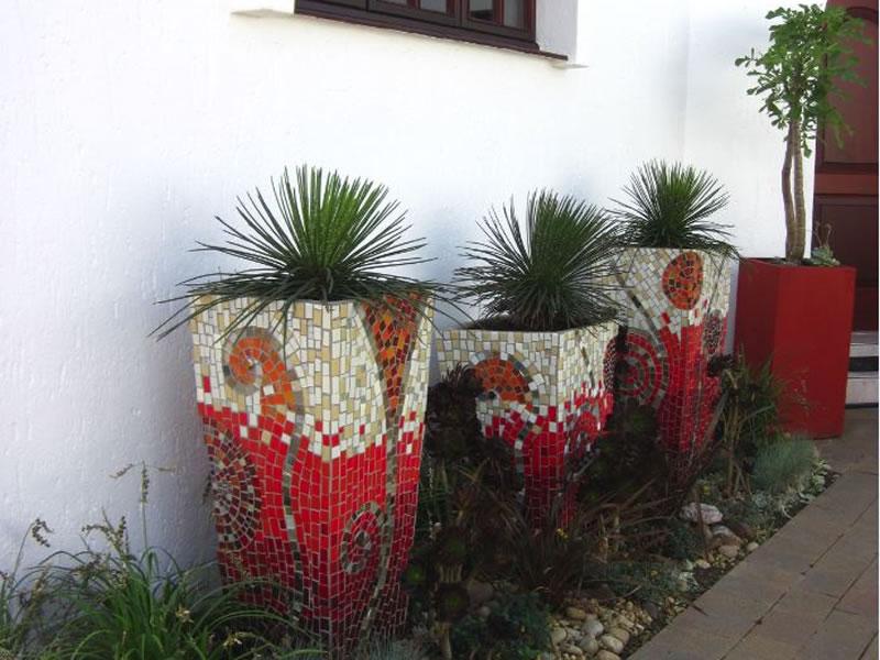 Pots And Planter Mosaics Mosaic Eternity Mosaic Artist